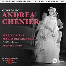 Maria Callas - Giordano: Andrea Chenier (Milano, 08/01/1955) (NEW 2CD)