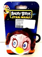 New Angry Birds Star Wars Backpack Clip Princess Leia Organa Plush