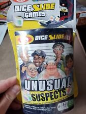 New! Unusual Suspects Dice Card Game by Fundex item# 2908 NIB, FACTORY SEALED!
