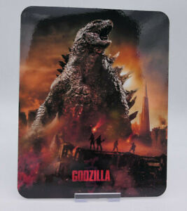 GODZILLA - Glossy Fridge or Bluray Steelbook Magnet Cover (NOT LENTICULAR)