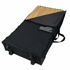 "FlooringInc Wheeled Soft Cases  Hold 25 - 2' x 2' 5/8"" Thick Tiles"