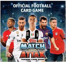 2018-19 Topps UEFA Champions League Soccer Match Attax Game New 50pk Display Box