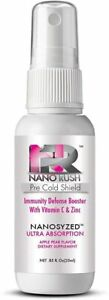 Pre-Cold Sublingual Spray Immune System Defense Booster with Vitamin C and Zinc