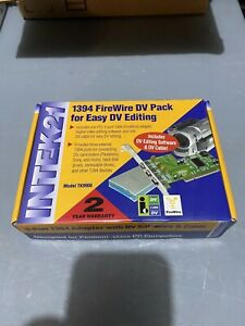 3-Port 1394 Adapter with DV Software and Cable NEW never opened - Intek21 TK9908