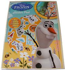 Infantil/Infantil/Disney Frozen Olaf Libro de pegatinas Pad + 30 Stickers -