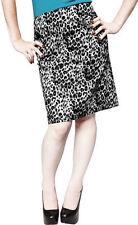 Women's Regular Cotton Blend Below Knee Straight, Pencil Skirts