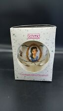 Schmid Disney Beauty and the Beast Belle Commemorative Christmas Ornament 1991