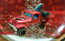 JEEP SCRAMBLER ~ RED~BEEN TREE SHOPPING~ Custom Christmas Ornament Decoration