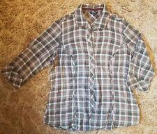 Reitmans Plaid Button Up Shirt