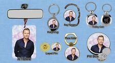 RONAN KEATING KEYRING FRIDGE MAGNET PURSE BOTTLE OPENER TROLLEY GLASSES CLOTH