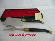 LAGUIOLE  coffret couteau fourchette service FROMAGE