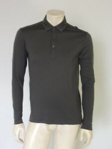 RAPHA Long Sleeve Merino Wool Polo Shirt Size MEDIUM