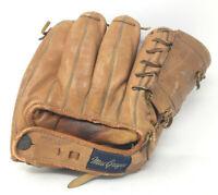Vtg MACGREGOR Baseball Glove BOBBY THOMSON G108 Spider Web Fast Loop