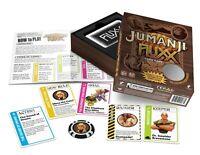 Jumanji Fluxx w/ 7 Bonus Cards & Coin Game Looney Labs Edition Card Game LOO 103