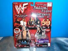 WWF Radical Rides / Grudge Match / STONE COLD & UNDERTAKER 1998 1/64 Die Cast