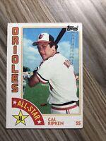 1984 Topps #400 Cal Ripken Jr All-Star Baltimore Orioles HOF Baseball Card NM/MT