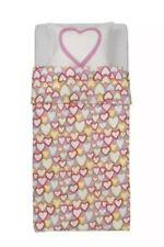 Ikea Vitaminer Hjarta Heart Twin Duvet Cover & Pillowcase Soft Cotton VGUC!