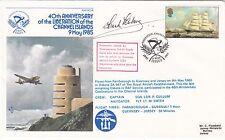 AC18bA 40th Anniv Liberation of the Channel Islands Signed Guernseyman Sub Lt Fr