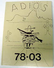 1978 USAF VANCE AIR FORCE BASE Yearbook - Enid, OK.  /  ADIOS 78-03 *** LQQK