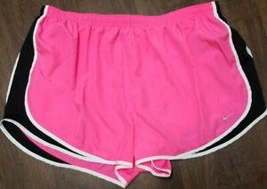Nike Women's Plus Size Tempo Dri-FIT Track Shorts Pink Sz 3X - Mint Condition!