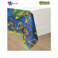 "TEENAGE MUTANT NINJA TURTLES PARTY SUPPLIES TABLE COVER 54"" x 96"" FREE POSTAGE"