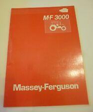 Massey Ferguson Schlepper 3050 + 3060 + 3070 + 3080 + 3090 Produktleitfaden