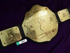 BIG GOLD world Heavyweight Wrestling Championship Replica Title Belt Adult Size