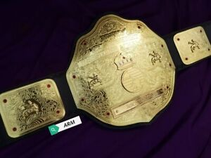 BIG GOLD World Heavyweight Wrestling Championship Replica Title Belt Adult Size