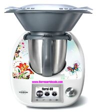Thermomix TM5 Sticker Decal  (Code: Floral 69)