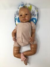 "Reborn Baby Ooak Newborn ""Knowles� signed by Artist Julia Kristal. Combi Hair"