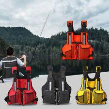 Adult Jacket Outdoor Buoyancy Aid Sailing Fishing Kayak Canoe Life Jacket Vest
