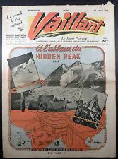 Vaillant 1ère série No 37 du 24/08/1945 TBE