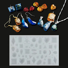 Silicone Pendant Mold Making Jewelry For Resin Necklace Mould Craft Tool UK