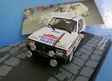 Talbot Samba Rallye 1/43 San Remo 1983 del Zoppo/tognana