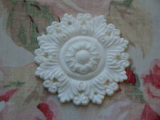 NEW! Shabby-Chic Large Acanthus Leaf Medallion Furniture Applique Architectural