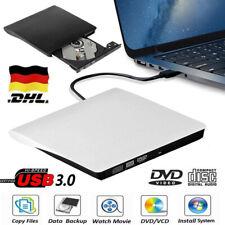 Externes Laufwerk Beschreibbare USB 3.0 DVD Brenner Slim CD DVD-RW Brenner DE