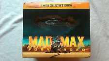 Mad Max Fury Road LIMITED COLLECTORS EDITION BLU RAY 3D STEELBOOK + MODEL CAR