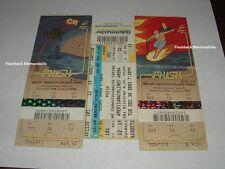3 Phish Concert Ticket Lot 2003 Miami Florida Aaa Nye Trey Anastasio Very Rare