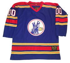 Kansas City Scouts Customized Jersey Hockey Sweater