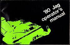 Vintage 1980 Arctic Cat Snowmobile Jag Operators Owners Manual
