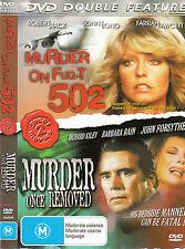 Murder On Flight 502-1975-Farrah Fawcett/Murder Once Removed-1971-Movie-DVD