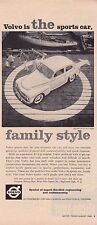 1960 VOLVO PV 544   ~  CLASSIC ORIGINAL PRINT AD