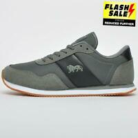 Lonsdale Roma Classic Mens Casual Retro Heritage Smart Fashion Trainers Grey