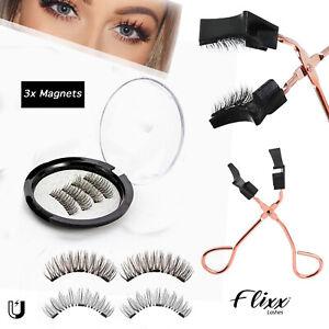 Professional Magnetic Eyelashes - Fake False Lashes Set Kit + Applicator Option