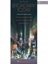 Broadway Today All-New 2nd Edition Sheet Music 48 Songs from 26 Hits 000311059
