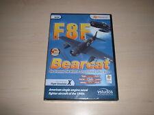 ✈️ FSX GRUMMAN F8F BEARCAT ~ FLIGHT SIMULATOR X FSX ADD-ON *NEW SEALED*
