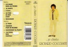 """K7 AUDIO (TAPE)  RICHARD COCCIANTE  """"JE CHANTE"""""""