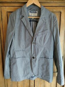 Joules Striped Jacket Mens S Small Blazer Boating 38