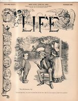 1899 Life June 29 - Southern Lynchings; Alcoholism; Dreyfus Returns; Suffolk Cty