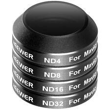 Neewer 4 Piezas Kit Filtro De Dji Drone Pro Mavic(Nd4+Nd8+Nd16+Nd32) (Mc-16)